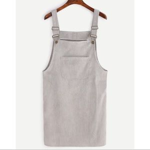Corduroy Overall Dress